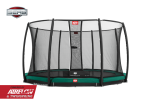 BERG InGround Champion 380 trampoline + net