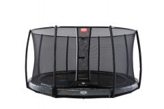 BERG Inground Elite 430 Levels trampoline + net