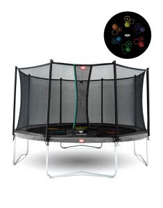 BERG Favorit 430 Levels trampoline + net
