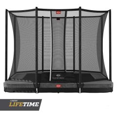 BERG Inground Ultim Favorit 280 trampoline + net