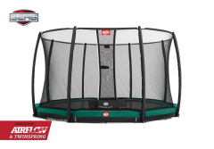 BERG InGround Champion 270 trampoline + net