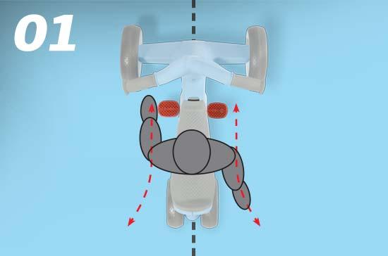 berg go2 skelter ergonomisch ontwerp