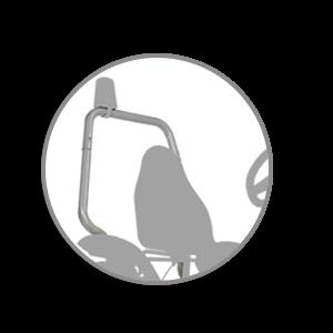 rolbeugel voor BERG skelter