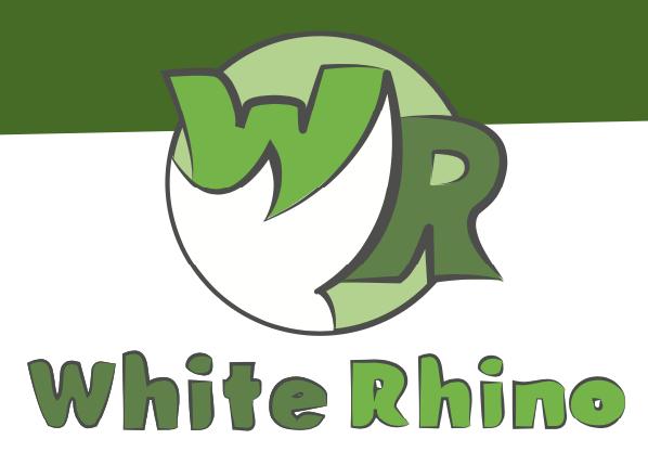 white rhino logo
