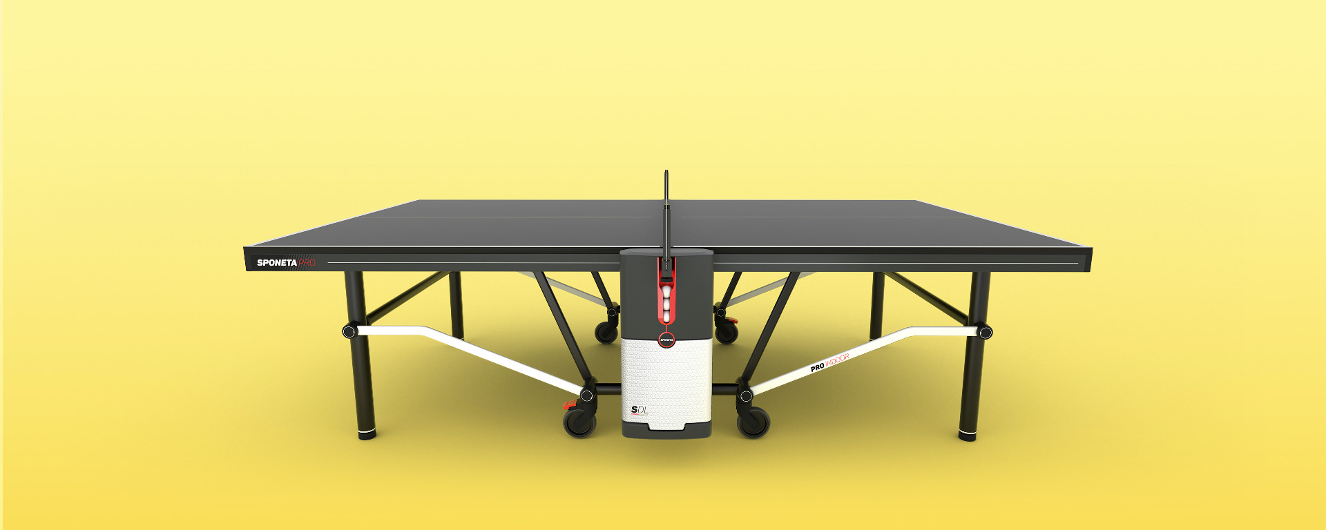 sponeta sdl tafeltennistafel indoor pro edition