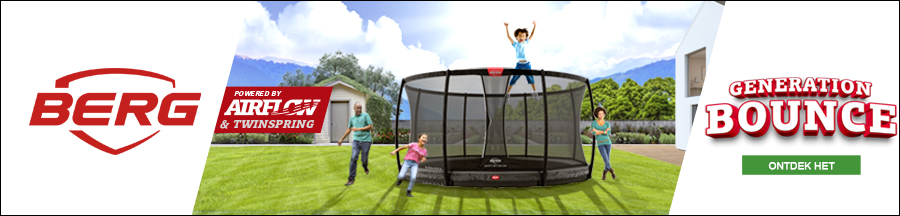 generation bounce berg trampolines banner