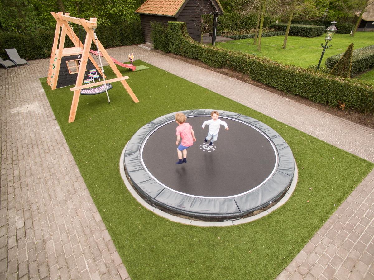 inground modernjump trampoline