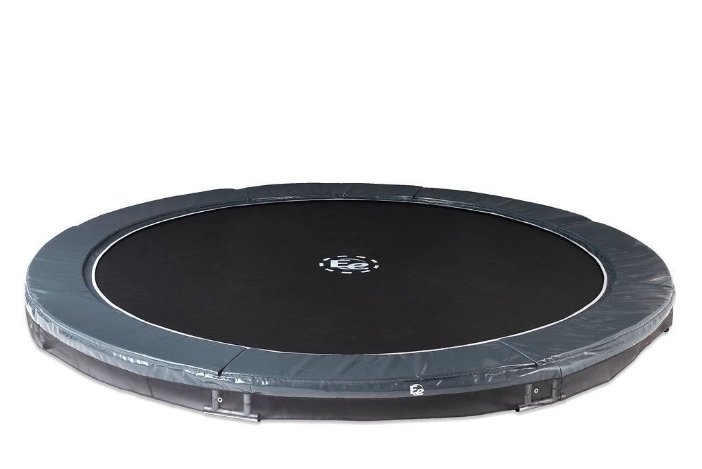 inground trampoline modernjump