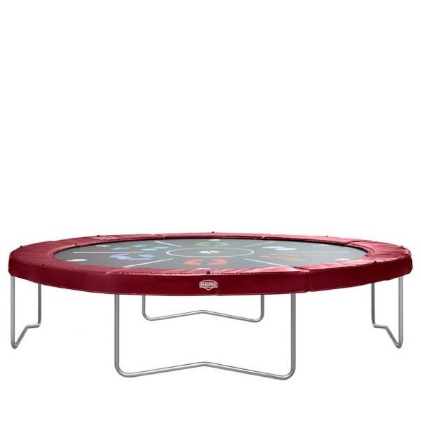 trampoline zonder veiligheidsnet